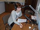 Ведущий специалист Суняйкина В.А. ведет программу